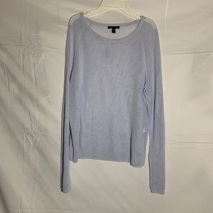 Eileen Fisher mesh long sleeve shirt
